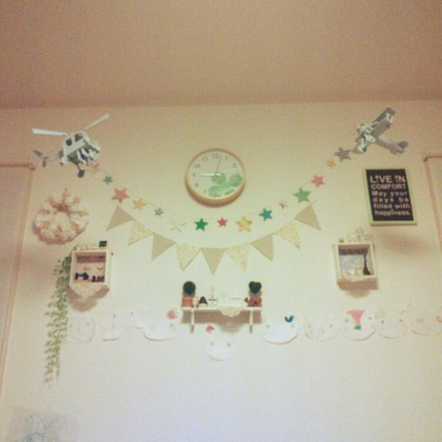 murachiさんの壁インテリア