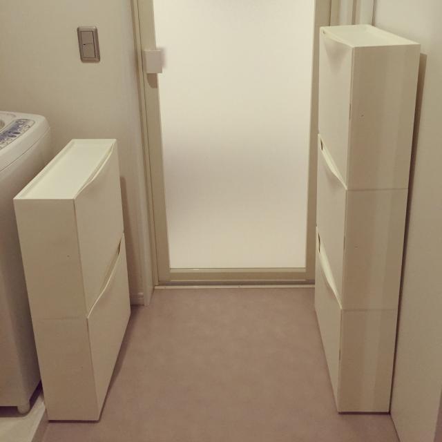 IKEAの収納アイテムでプチお部屋改造!コーディネート事例 トロファストシリーズが人気お手頃価格が嬉しいKUSINER ボックス靴だけじゃない、シューズキャビネット活用法他にも注目のシンプルな収納たち関連記事