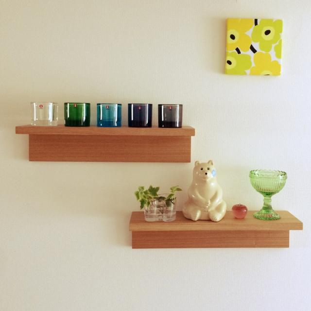 壁面収納が劇的に便利!無印良品の壁に付けられる家具