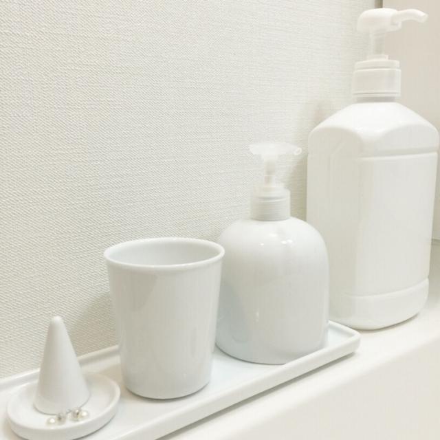 やっぱりシンプルが好き♡無印良品で作る洗面台周り
