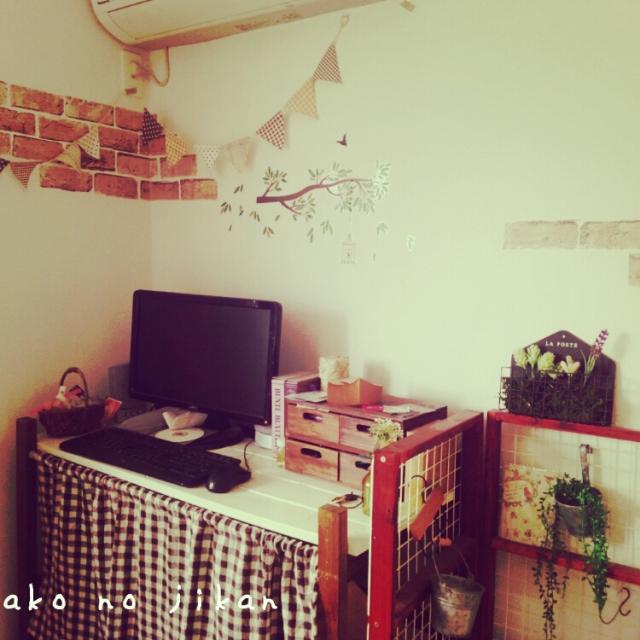 Rinaさんのレンガ壁