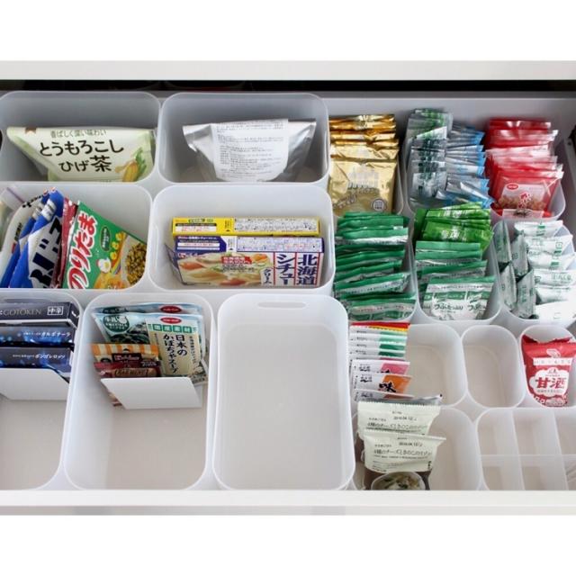 保管ルールを決めれば、スッキリまとまる!保存食の整理術   RoomClip mag