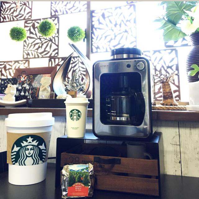 機能もデザインも満足!スタイリッシュなコーヒーメーカー