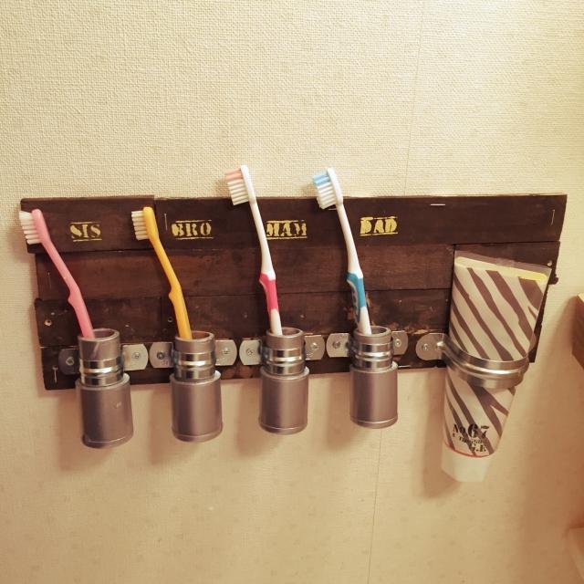 歯も洗面所もピカピカに☆歯ブラシの収納アイディア