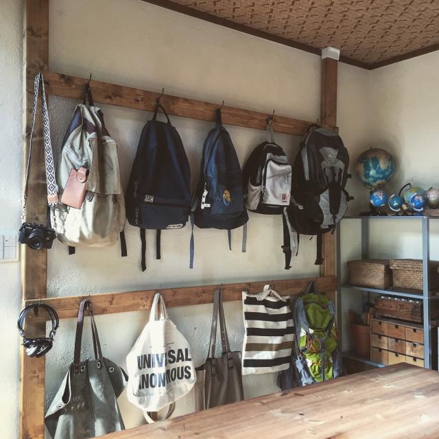 出し入れ楽々で、家族全員お片付け上手に☆壁面収納の魅力 | RoomClip mag