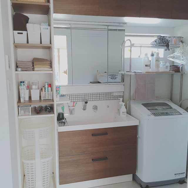 洗濯機まわりが便利に変わる!100均のお役立ちアイテム | RoomClip mag