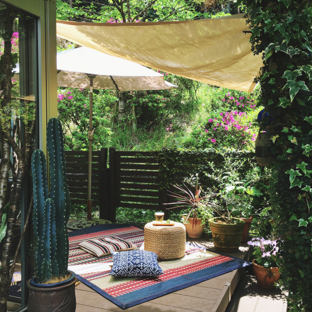 庭で過ごす時間を快適に♡思わず憧れるガーデン実例集