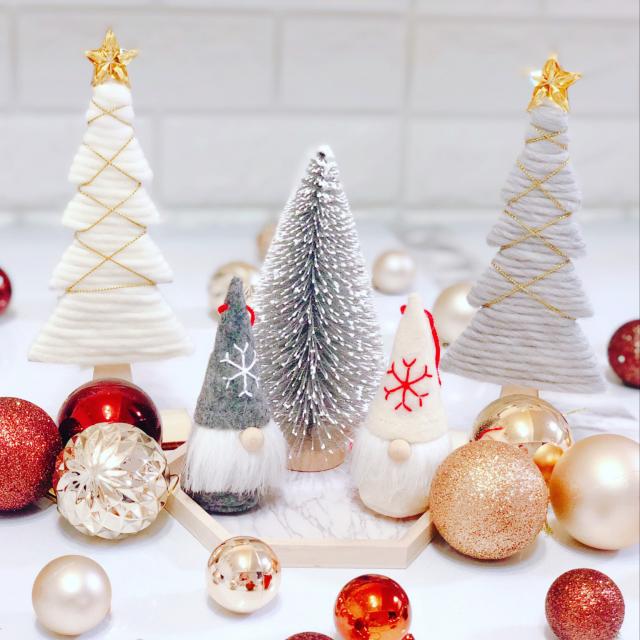 冬の大イベント☆クリスマスを100均アイテムで楽しもう   RoomClip mag