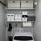 生活感なし!オシャレで便利な洗面所の収納アイディア