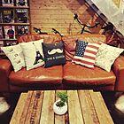 憧れる♪革ソファを取り入れているかっこいいお部屋実例