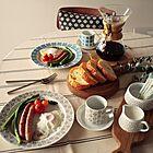 食卓がだんぜん華やぐ♪北欧食器のテーブルコーディネート