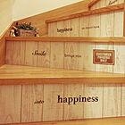 「毎日に楽しみを増やす。壁紙でできる、階段のイメチェンDIY」 by Sa-ri-38さん[特集:あの人に聞く、おすすめアイテム&○○のやり方]