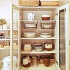 きれいで使いやすい食器棚収納♪こんなルールがありました