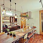 憧れのカフェ風キッチンにする!3つの重要アイテムとは