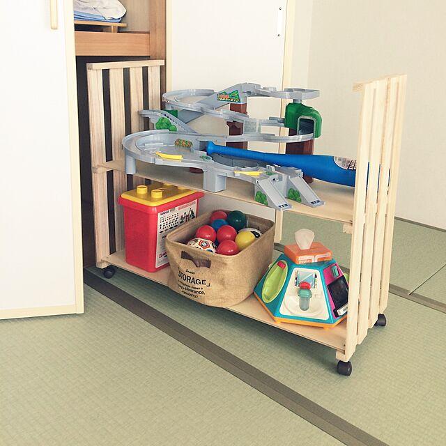 手作りすれば、場所や用途にぴったり♡すのこで棚をDIY