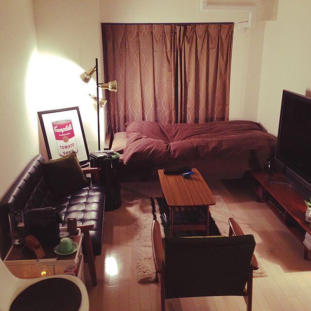 憧れの「カリモク60」でインテリアを楽しむ部屋写真
