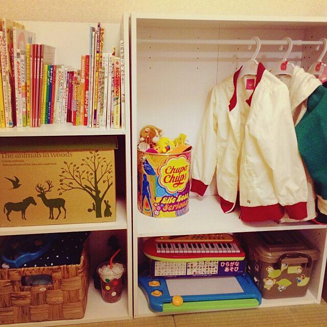 カラーボックス,ニトリ,DIY,セリア,100均 uchiの部屋