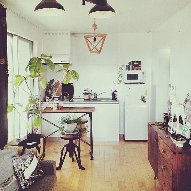 Overview,観葉植物,一人暮らし,無印良品,ACME FURNITURE,パシフィックファニチャー,雑貨 csの部屋