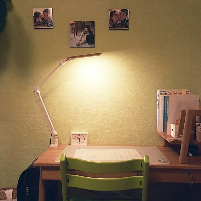 My Desk,無印良品,ケユカ,リビング学習,いつも、いいね!ありがとうございます☆,北欧インテリアに憧れる,こどもと暮らす,無印良品時計 cherryの部屋