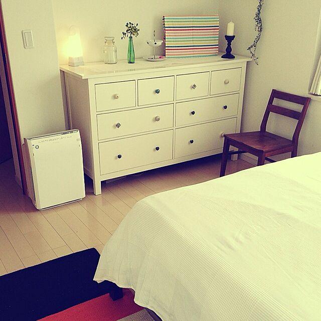 Bedroom,IKEA,無印良品ライト yossyの部屋