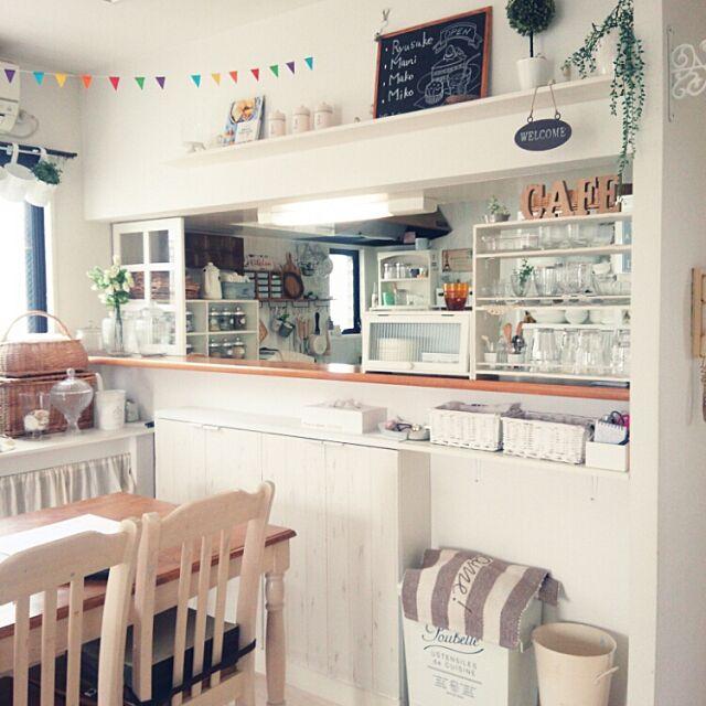 Overview,DIY,ナチュラルキッチン,プチプラ makomiの部屋