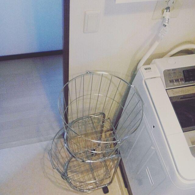Bathroom,収納,シンプル,整理整頓,整理収納,シンプルな暮らし,無印良品,洗濯かご fika_naeの部屋