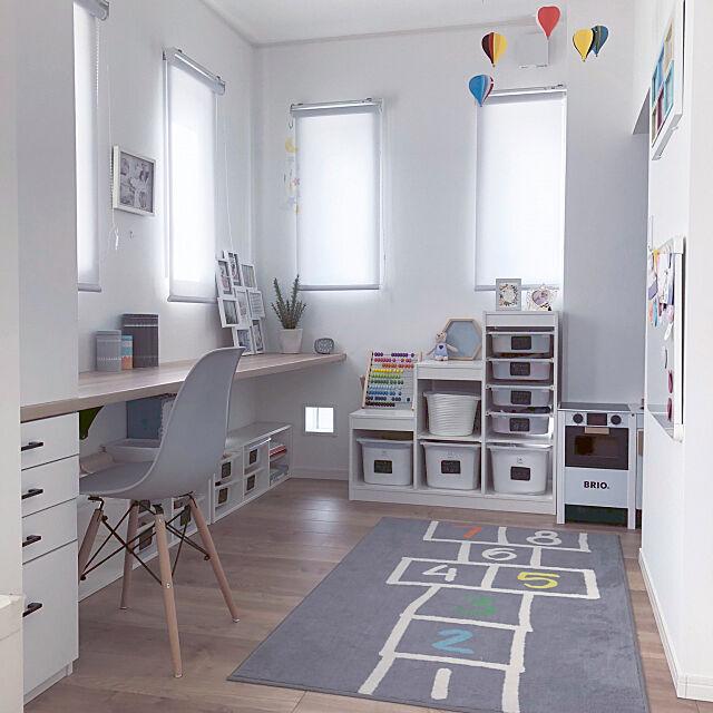 My Desk,ホワイトボード,ブリオキッチン,トロファスト,イケア75,IKEA,こどもと暮らす。,女の子の部屋 otamaの部屋