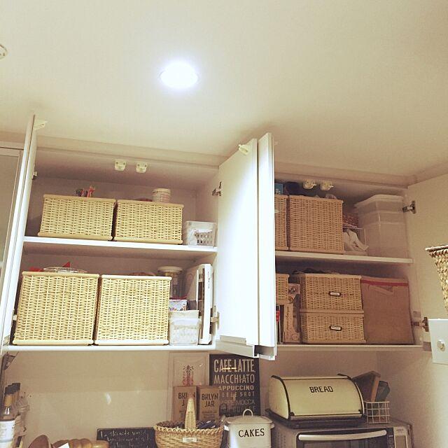 Kitchen,3Coins,ダイソー,無印良品 カゴ,キッチン収納,saboten倶楽部,鉛筆削りオブジェの会 nyancooの部屋