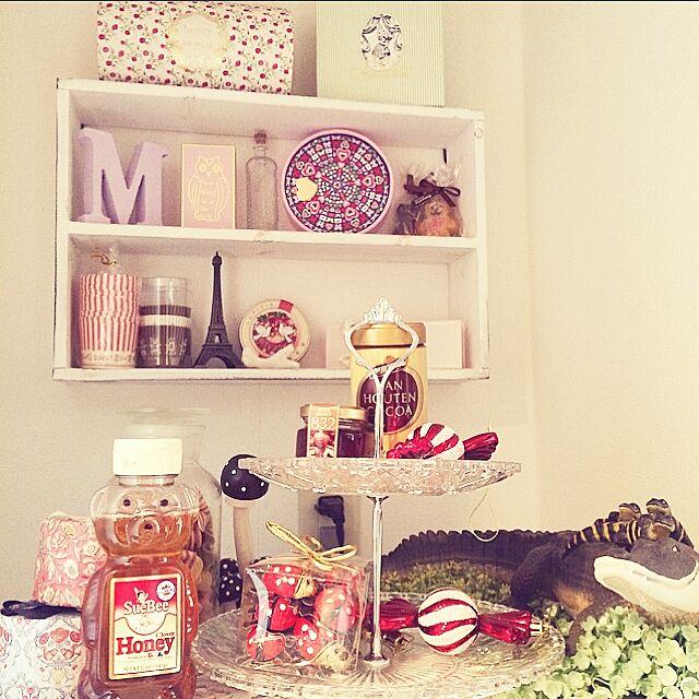 My Shelf,ラデュレ,ゴディバ,一人暮らし,カルディ,3Coins,雑貨,ナチュラルキッチン,100均,スリーコインズ Mahoの部屋