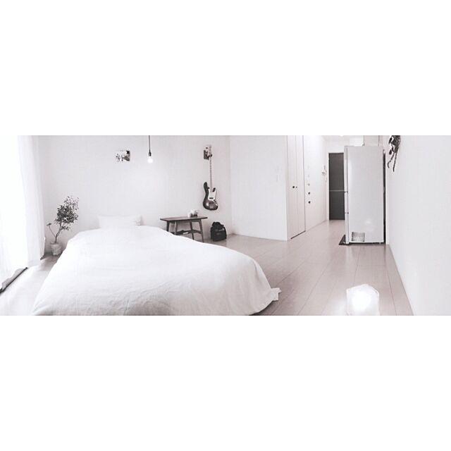 Overview,パノラマ撮影,断捨離中,一人暮らし,ライフスタイル,FenderUSA,minimalism uの部屋