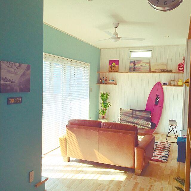 Lounge,カリフォルニアスタイル,西海岸,カリフォルニア,サーフスタイル,サーファーズハウス,マイホーム記録,カリフォルニアハウス,西海岸インテリア,アメリカンスタイル,西海岸スタイル,surf,WTWstyle,surfer's room,ビーチハウス,SURFER'S HOUSE,サーファーの家,CARIFORNIA,アメリカン,アメリカンハウス,ビーチ maの部屋