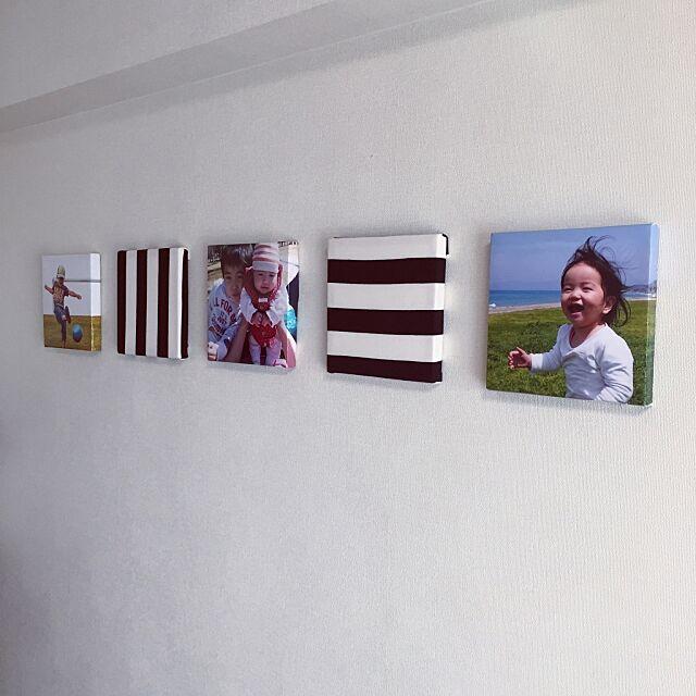 On Walls,シンプルインテリア,フォトパネル,賃貸,ハンドメイド,北欧 shinoの部屋