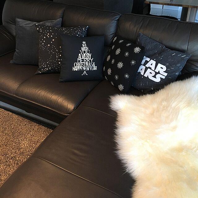Lounge,H&M HOME,IKEA mの部屋