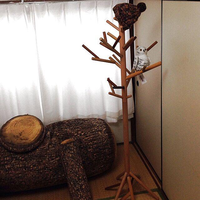 Lounge,コートハンガー,ハンドメイド,手作り,雑貨,DIY,ハンガー,無印良品,ソファ,木 kuroshiokunの部屋