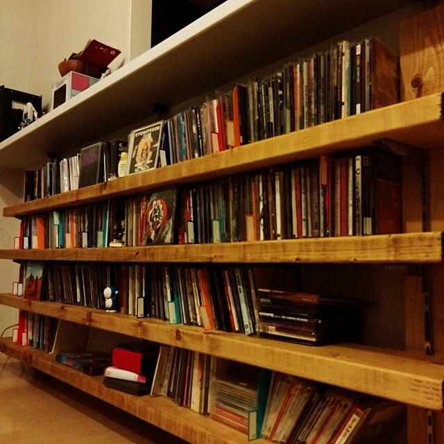 My Shelf,CDラック,DIY,CD,CD収納 dopesmokerの部屋