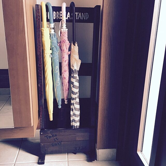 Entrance,傘立て,DIY初心者,ムムムッ,男前に憧れる,傘立てDIY,川平慈英,暑さに負けた amiruの部屋