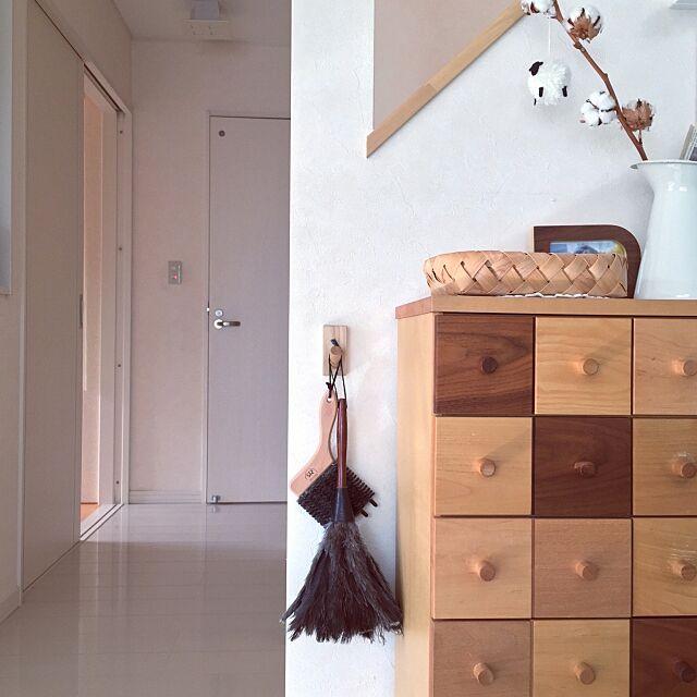 On Walls,壁掛けフック,無印良品,REDECKER,レデッカー,掃除道具,暮らしの道具,デザイン雑貨 SAYOの部屋