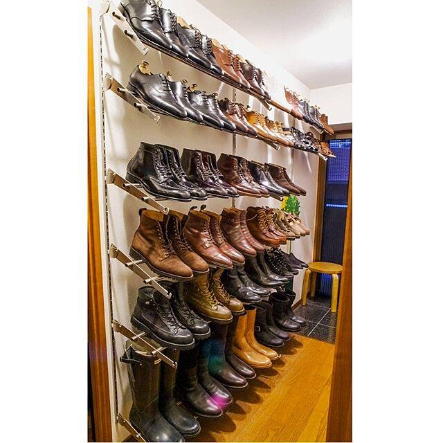 靴 見せ方