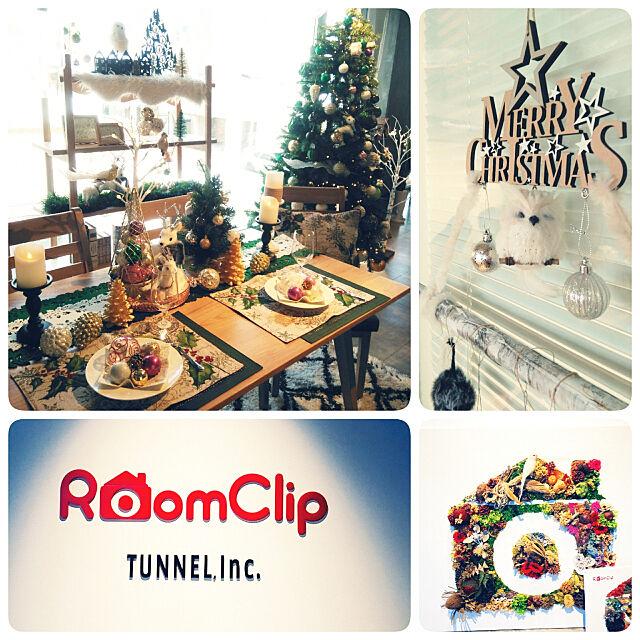 ニトリ,クリスマス,ニトリクリスマスワークショップ,午前の部,RoomClip本社,楽しかったぁ~♬♬ akkiiiの部屋