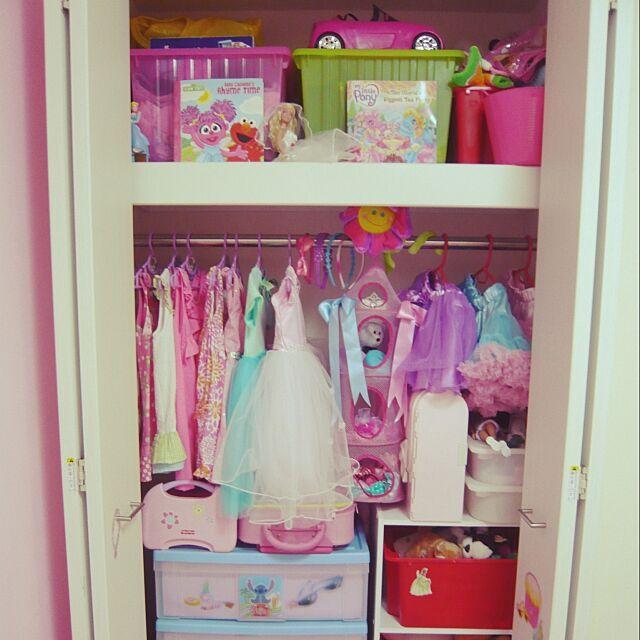 My Shelf,子供部屋,クローゼット annieの部屋