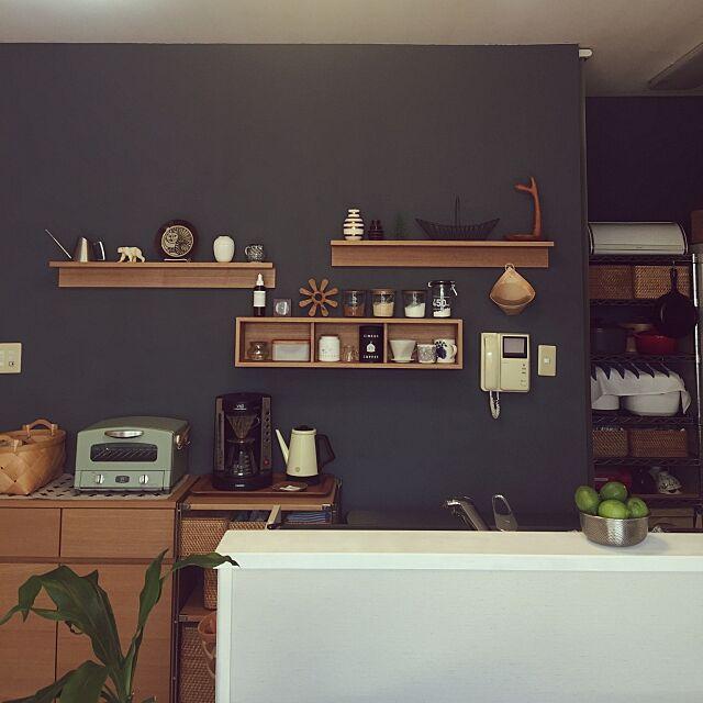 Kitchen,Lisa Larson,IDEE,北欧,北欧インテリア,marimekko,無印良品,IKEA,野田琺瑯,壁紙屋本舗,無印良品 壁に付けられる家具,WECK,KAHLER,ARABIA chicaの部屋