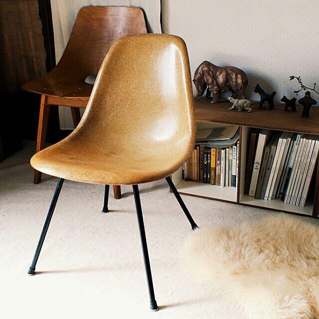 Lounge,ミッドセンチュリー,チェア,デザイナーズチェア,椅子,ヴィンテージ,ガレージ,モダン,イームズ,ハーマンミラー,サイドシェルチェア,イームズチェア,イームズヴィンテージ,ミッドセンチュリーモダン,シェルチェア fuの部屋