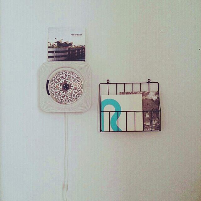 On Walls,無印良品,壁掛式CDプレーヤー,セリア,無印CDプレイヤー tomonoriの部屋