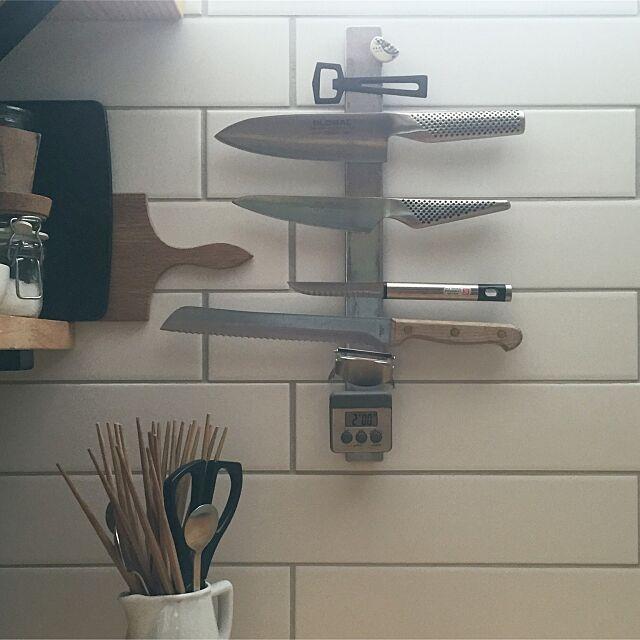 Kitchen,キッチンツール,包丁,GLOBAL,グローバル,IKEA mohayaeteの部屋