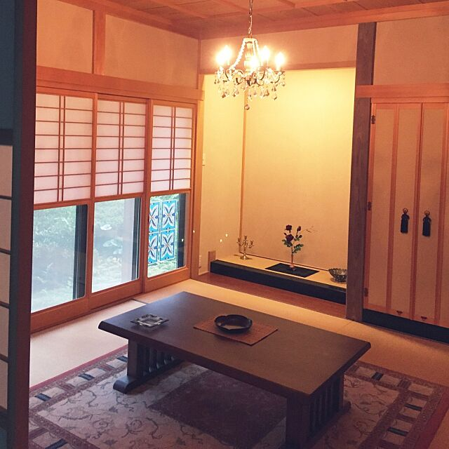 オリエンタル,畳,和風,フランフラン,ダイソー,Overview,ニトリ korikoriの部屋