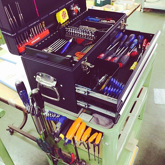 DIY,工具,収納,工具箱,ワゴン  Kouchiiの部屋