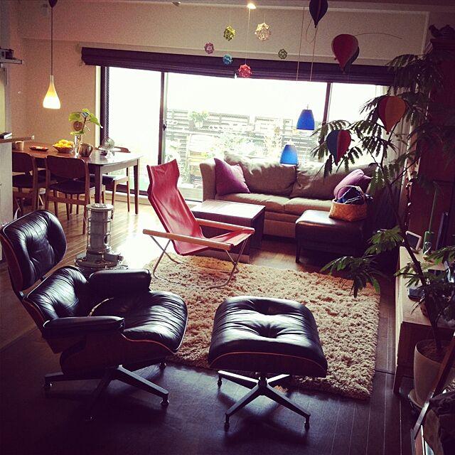 Lounge,アラジン,ラウンジチェア,イームズ,ハーマンミラー masamixの部屋