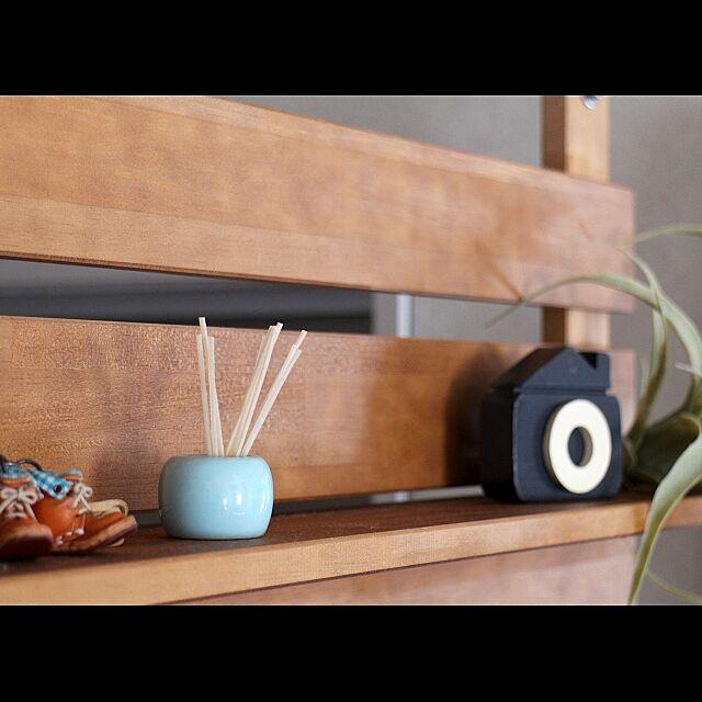 賃貸,一人暮らし,BRUNO,SandyCandleKit,無印良品,歯ブラシスタンド,My Shelf miyaの部屋