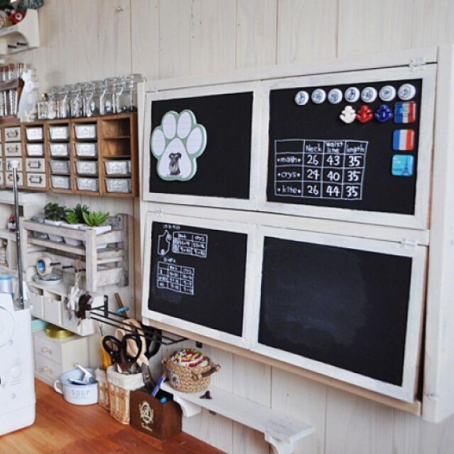 My Shelf,セリアブリキフレーム,マグネット,アトリエの壁,セリアだらけ♡,いいねありがとうございます satobonmamaの部屋