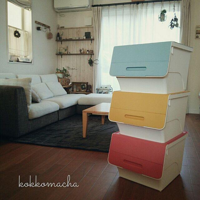My Desk,ブログやってます(*Ü*),収納,squ+,froq kokkomachaの部屋
